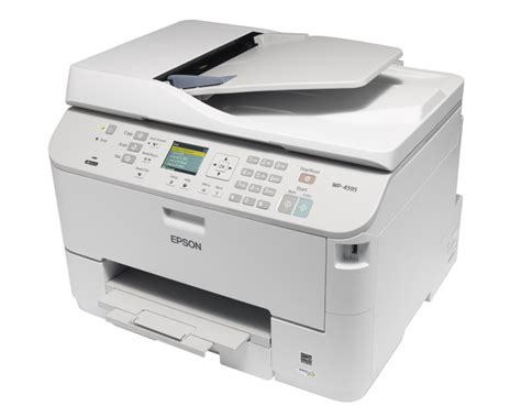 Printer Epson Workforce Pro Wp 4521 epson workforce pro wp 4595dnf review expert reviews