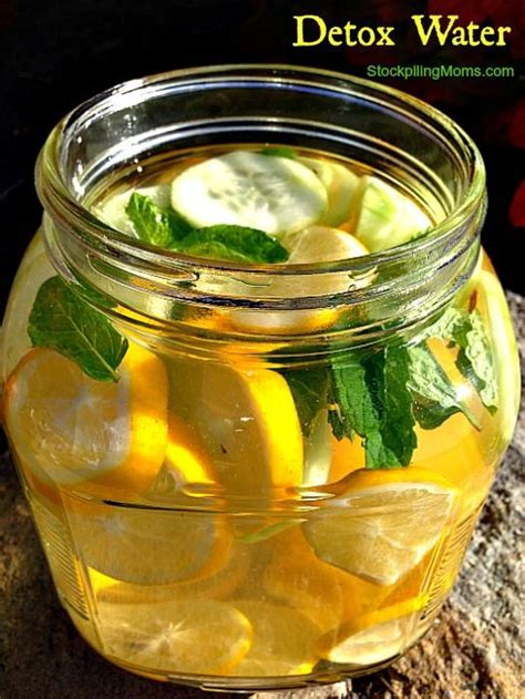 Liver Detox Drink Lemon Cucumber by Detox Water Recipe Detox Waters Candida Yeast And Drinks