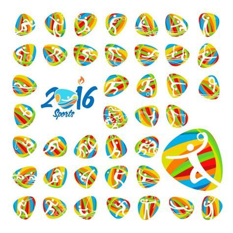juegos olmpicos rio 2016 newhairstylesformen2014 com rio 2016 juegos ol 237 mpicos de verano iconos de los deportes