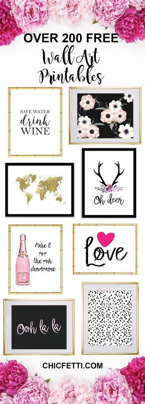 printable home decor 25 best ideas about free printable art on pinterest