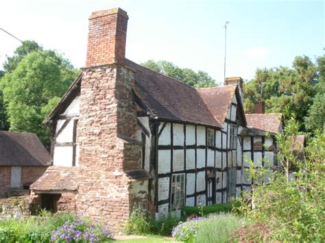 file cottage next to the church at lower sapey geograph