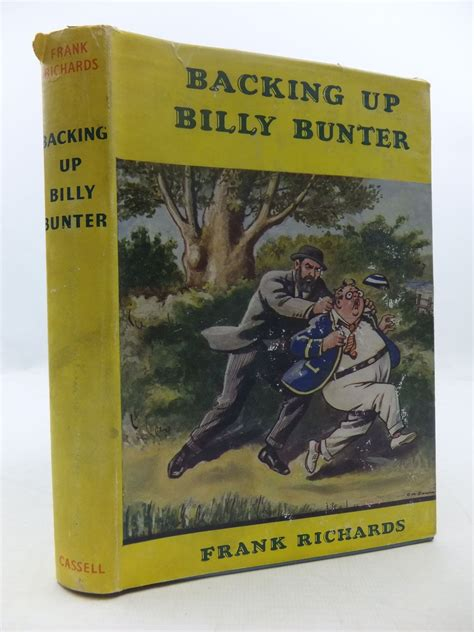 code billy books backing up billy bunter written by richards frank stock