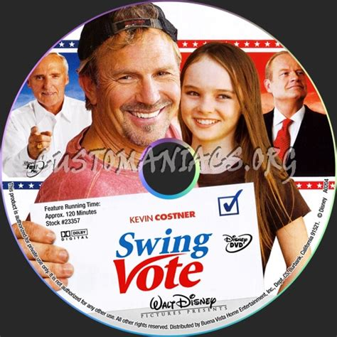 swing dvd swing vote dvd label dvd covers labels by customaniacs