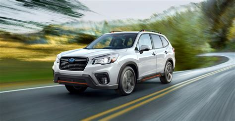 subaru forester 2019 2019 subaru forester debuts with a bigger interior and