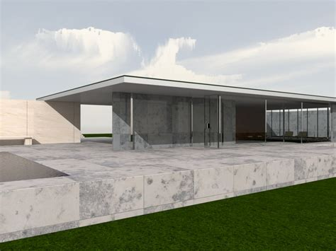 Home Design Software Download by Moi Gallery Mies Van Der Rohe Barcelona Pavilion