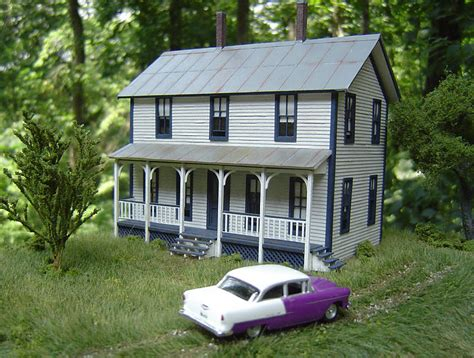 two story farmhouse two story farmhouse model railroad hobbyist magazine