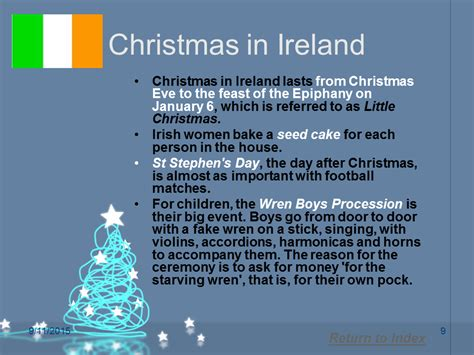 ireland facts about christmas traditions ireland information news lengkap