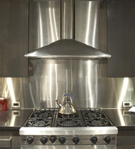 Stainless Steel Backsplash Kitchen by 16 Gauge 060 Quot Thick Stainless Steel Backsplashes From