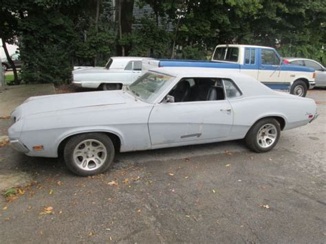 1970 mercury cougar base model 3 speed manual rust free very clean classic mercury cougar