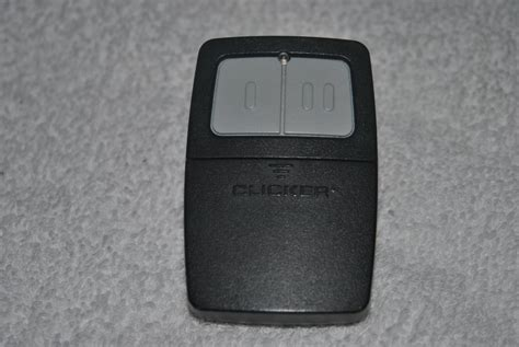 clicker remote garage door opener clicker klik1 universal garage door opener remote w visor
