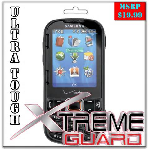 xtremeguard clear screen protector shield for samsung intensity 3 iii sch 0485 ebay