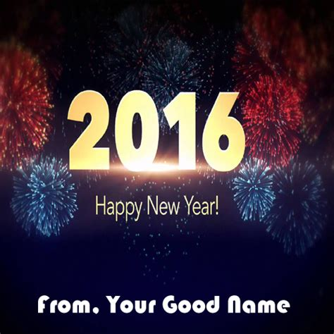 new year name best happy new year 2016 wishes name pictures