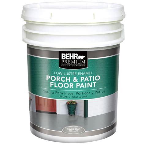 home depot pro x paint behr premium plus 5 gal low luster enamel porch and floor
