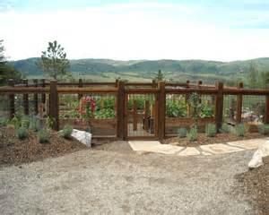 Vegetable Garden Fencing Ideas Simple Vegetable Garden Fencing Ideas Traditional
