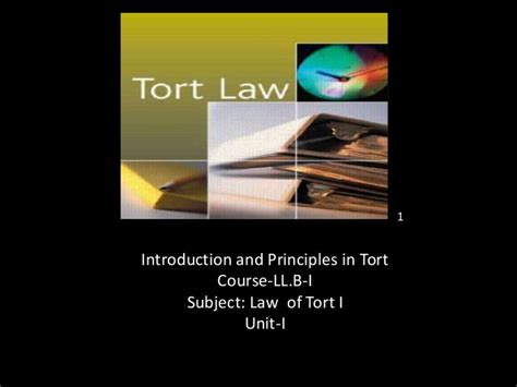 Scope Of Llb With Mba by Origin Nature And Scope Of Of Tort Of Torts