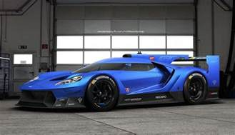 Ford Le Mans Rendering Ford Gt Le Mans Prototype