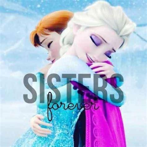frozen wallpaper elsa and anna sisters forever frozen