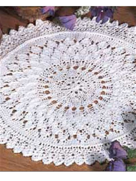 doily knitting patterns free table treatment knitting patterns lace leaf doily