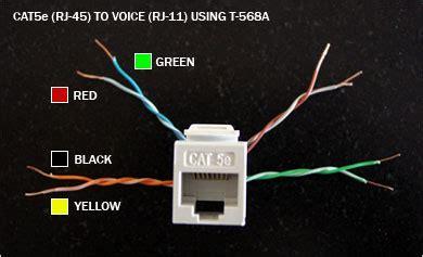 standard wiring rj11 rj12 connectorpairs wiring circuit