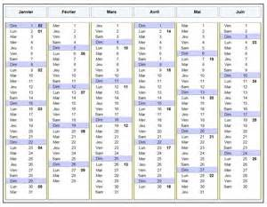 Calendrier Perpetuel Calendrier Annuel Perpetuel Calendar Template 2016