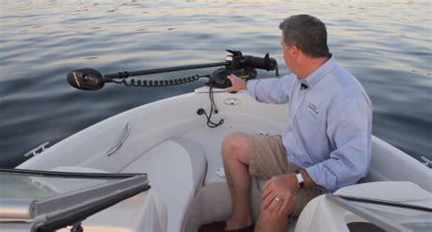electric trolling motor on swim platform a guide to boat trolling motors small boater