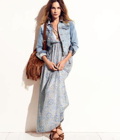 H M Striped Maxi Dress T3010 summer dresses 50 the jpd