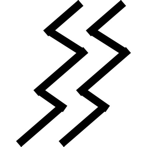 why resistor symbol is zig zag two zig zag lines symbol free shapes icons