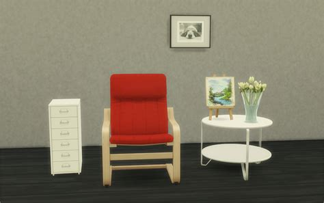 The Sims 4 Custom Content: IKEA Goodies Set   Sims Community