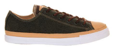 army converse sneakers converse all low in brown for army lyst