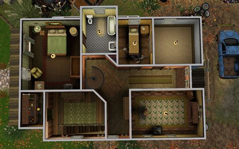 Floor Plan Creater mod the sims bobby s house supernatural