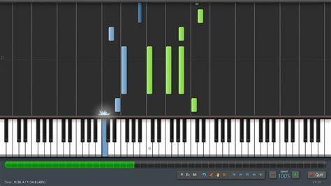 piano tutorial in synthesia handel sarabande piano tutorial synthesia sheet