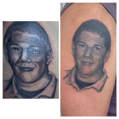 tattoo fixers new member portrait fix up by jeff norton tattoonow