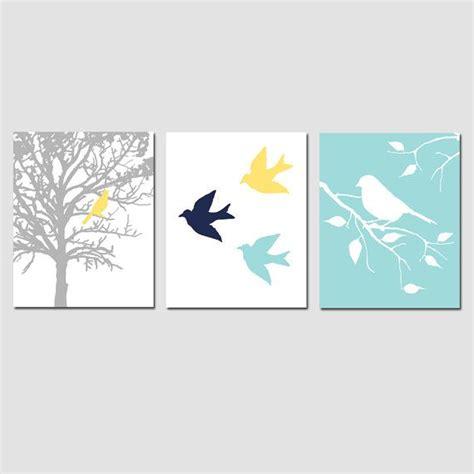 55 amazing aqua bird design modern bird trio set of three 8x10 prints modern