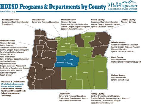 Bend Lapine School District Calendar Districts We Serve High Desert Education Service District