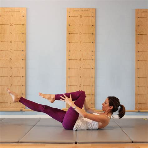 pilates chair abdominal exercises pilates ab workout series of five popsugar fitness