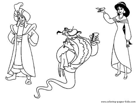 aladin coloring pages coloring pages  kids disney