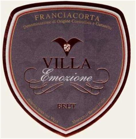 Gläser Für Kerzenständer by Villa Franciacorta Emozione Brut Millesimato