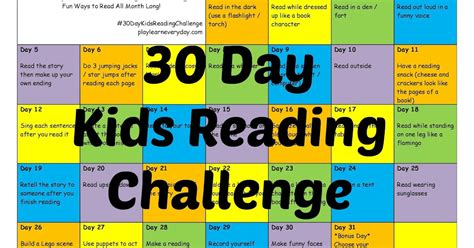 lego challenges for children 30 day reading challenge play and learn every day