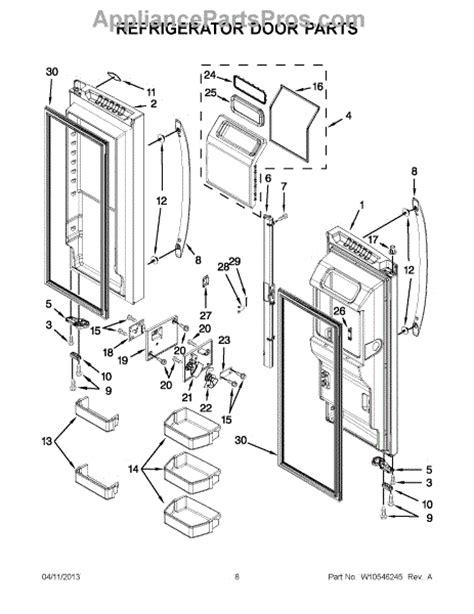 maytag refrigerator parts diagram parts for maytag 7mf2976aem00 refrigerator door parts