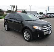 Ford Edge 2011 Black Suv Sel Gasoline 6 Cylinders Front