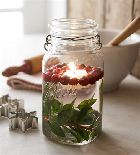 be different act normal mason jar christmas centerpiece