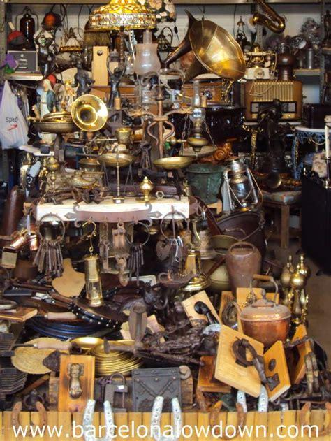 encants vells flea market barcelona lowdown