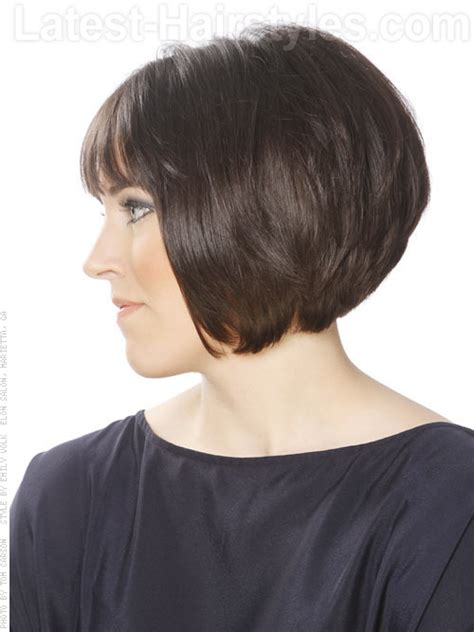 how to cut stack bob with side swept bangs top 26 short bob hairstyles haircuts for women in 2017