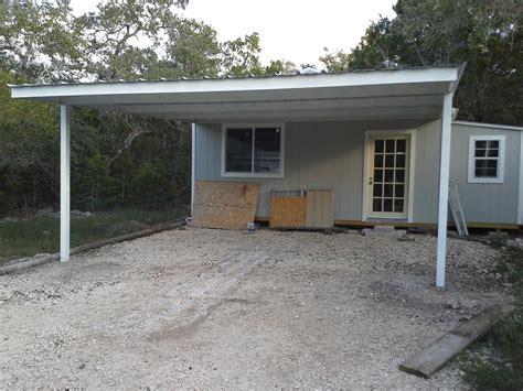 attached carport cotulla texas attached custom all steel carport carport