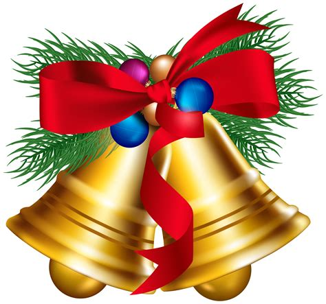 clipart of christmas bells clipart collection