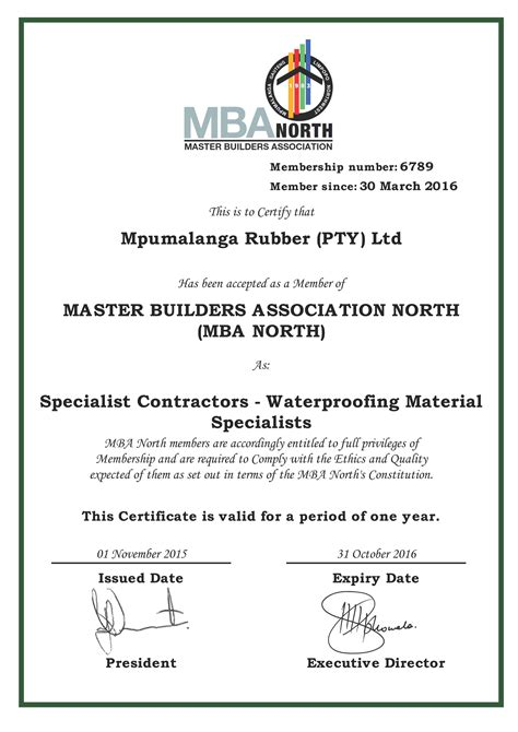 Mba Sandblaster by Master Builders Association Mba