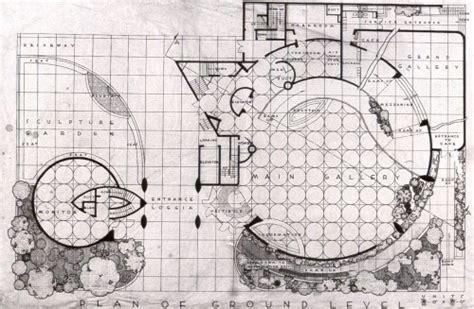 Guggenheim Museum Bilbao Floor Plan guggenheim museum new york n y frank lloyd wright