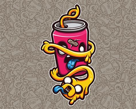 Sticker Caracter Fit It Type B jake the sticker character vector on behance