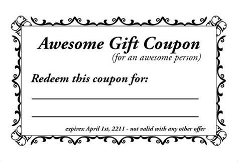 free blank coupon templates editable coupon template flogfolioweekly
