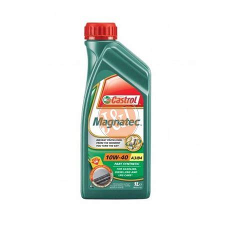 Castrol Magnatec Liter castrol magnatec 10w40 motorolie 1 liter